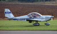 G-CDXS @ EGBT - Eurostar EV-97  - A visitor to the 2008 Turweston Vintage and Classic Day