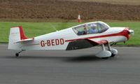 G-BEDD @ EGBT - Jodel D117A - A visitor to the 2008 Turweston Vintage and Classic Day