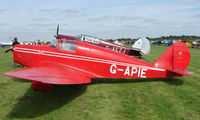 G-APIE @ EGBT - 1958 Tipsy Belfair - A visitor to the 2008 Turweston Vintage and Classic Day
