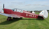 G-AEZJ @ EGBT - 1937 Percival P10 Vega Gull - A visitor to the 2008 Turweston Vintage and Classic Day