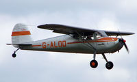 G-ALOD @ EGBT - 1947 Cessna 140 - A visitor to the 2008 Turweston Vintage and Classic Day