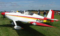 G-CETS @ EGBT - Vans RV-7 - A visitor to the 2008 Turweston Vintage and Classic Day