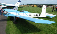 G-BGLF @ EGBT - 1983 Evans Vp-1 Series 2 - A visitor to the 2008 Turweston Vintage and Classic Day