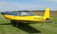 G-APUE @ EGBT - 1959 Meta - Sokol L-40 - A visitor to the 2008 Turweston Vintage and Classic Day