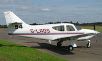 G-LADS @ EGBT - 1977 Commander 114 - A visitor to the 2008 Turweston Vintage and Classic Day