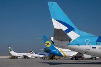 ES-ABC @ VIE - Estonian Boeing 737-500