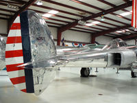 N25Y @ ADS - The former White Lightning of Lefty Gardner now owned by Red Bull - restored by Ezell Aviation - At the Cavanaugh museum on it's way to Austria. WOW!