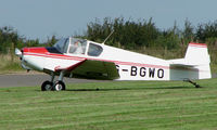 G-BGWO @ EGBT - 1955 Jodel D112 - A visitor to the 2008 Turweston Vintage and Classic Day