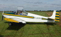 G-AYFF @ EGBT - 1971 Druine Condor  - A visitor to the 2008 Turweston Vintage and Classic Day