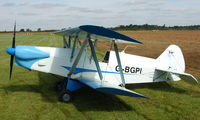G-BGPI @ EGBT - 1986 PLUMB - A visitor to the 2008 Turweston Vintage and Classic Day