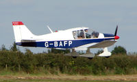 G-BAFP @ EGBT - 1972 Robin  - A visitor to the 2008 Turweston Vintage and Classic Day