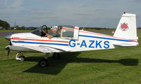 G-AZKS @ EGBT - 1970 American AA-1A - A visitor to the 2008 Turweston Vintage and Classic Day