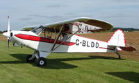 G-BLDD @ EGBT - 1985 Acro Trainer in new colour scheme - A visitor to the 2008 Turweston Vintage and Classic Day