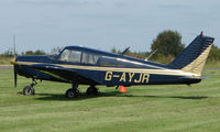 G-AYJR @ EGBT - A visitor to the 2008 Turweston Vintage and Classic Day