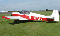 G-ATAV @ EGBT - 1965 Druine Condor - A visitor to the 2008 Turweston Vintage and Classic Day