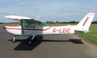 G-LEIC @ EGBT - 1985 Cessna 152 - A visitor to the 2008 Turweston Vintage and Classic Day