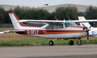 G-OFLY @ EGBW - 1977 Cessna 210M at Wellesbourne