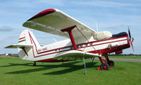 HA-ANG - Immaculate Antonov 2 at Hinton-in-the-Hedges