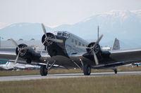 D-CDLH @ LOAN - Lufhansa Junkers 52