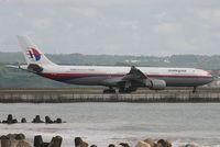 9M-MKF @ WADD - Malaysian Airlines - by Lutomo Edy Permono