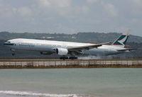 B-HNP @ WADD - Cathay Pacific - by Lutomo Edy Permono