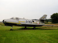 319 @ EGSL - Left behind when the Rebel Air Museum moved to Earls Colne - by chris hall