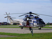 LN-OLC @ EHKD - Airshow or not, this helo is ready for emergencies at the North Sea - by Alex Smit