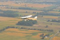N1377M - Early fall colors over central Ohio - by Bob Simmermon