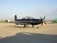 156101 @ KMAF - Canadian version of the Raytheon T-6A Texan II trainer aircraft - by TorchBCT