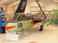 118 @ EHKD - Preserved in the local Naval Aviation Museum - by Alex Smit