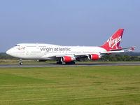 G-VWOW @ EGCC - Virgin Atlantic - by chris hall