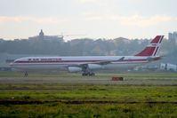 F-WWJF @ LFBO - A340-313 N° 800