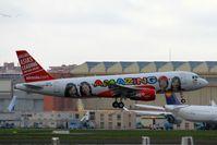 F-WWBC @ LFBO - A320-216 N° 3000 - by JBND31