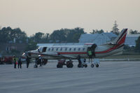 C-GYHD @ CYKF - Unloading at Waterloo Airport - by Shawn Hathaway