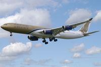 A9C-LJ @ EGLL - Gulf Air Airbus A340-300 - by Thomas Ramgraber-VAP