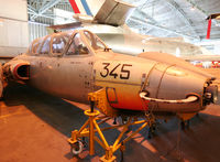 345 @ LFBD - Preserved in CAEA Museum... Ex. Cognac Air Force Base - by Shunn311