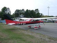 CF-FZF @ CND4 - @ Haliburton/Stanhope Muni Airport, Ontario Canada - by PeterPasieka