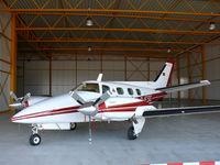 D-IESG @ EHBK - Beechcraft Be60 Duke D-IESG - by Alex Smit
