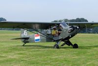 PH-UCS @ EBDT - This Cub is painted in the colours of the former Netherlands East Indies Air Force.