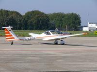 D-KBOE @ EHBK - Hoffman-flugzeugbau H 36 DIMONA D-KBOE - by Alex Smit