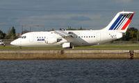 EI-RJF @ EGLC - CityJet operating Air france franchise into London City
