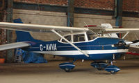 G-AWVA @ EGCB - Cessna F172H photographed at Manchester Barton Open Day in Sept 2008