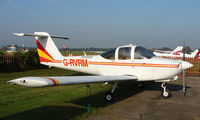 G-RVRM @ EGCB - Piper Pa-38-112 photographed at Manchester Barton Open Day in Sept 2008