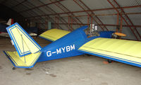 G-MYBM @ EGCB - Minimax 91 photographed at Manchester Barton Open Day in Sept 2008