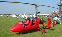 G-JYRO @ EGCB - Gyrocopter photographed at Manchester Barton Open Day in Sept 2008