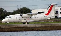 G-BWIR @ EGLC - Dornier 328 landing at London City