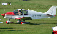 G-FTIN @ EGCB - Robin DR400 photographed at Manchester Barton Open Day in Sept 2008