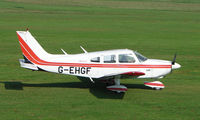 G-EHGF @ EGCB - Piper Pa-28-181 photographed at Manchester Barton Open Day in Sept 2008