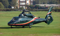 G-MLTY @ EGCB - Aerospatiale AS365N2 photographed at Manchester Barton Open Day in Sept 2008