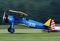 G-IIIG @ EBDT - High speed landing at the old timer fly in 2008 - by Joop de Groot